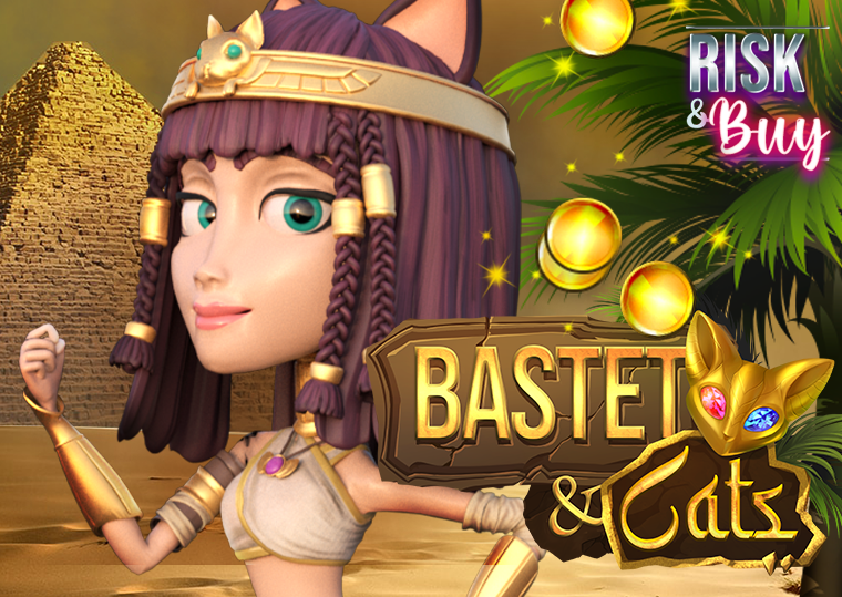 Mascot Gaming presents Avalanche mechanics in their new 3D slot Bastet and Cats